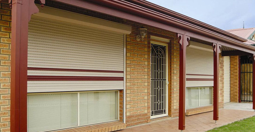 Roller shutter windows and doors